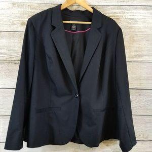Lane Bryant Black Blazer Plus Size 28